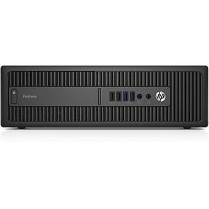 HP Business Desktop ProDesk 600 G2 Desktop Computer | Intel Core i7 (6th Gen) i7-6700 3.40 GHz | 8 GB DDR4 SDRAM | 256 GB SSD | Windows 10 Pro (French) | Small Form Factor