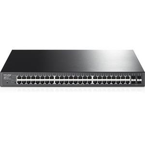 TP-LINK 48-Port Gigabit PoE+ Smart Switch 48 Gigabit RJ45 ports including 4 SFP ports