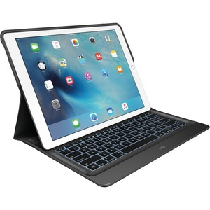 CREATE Backlit Keyboard Case with Smart Connector for iPad Pro - Black (Limited