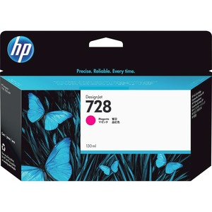 HP #728 130ML Magenta Ink Crtg