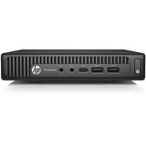 HP Business Desktop ProDesk 600 G2 Desktop Computer | Intel Core i7 (6th Gen) i7-6700T 2.80 GHz | 8 GB DDR4 SDRAM | 128 GB SSD | Windows 10 Pro 64-bit | Mini PC