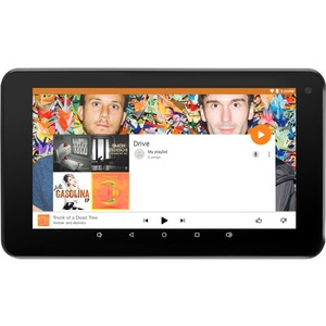 Ematic 7 HD Quad Core 8GB Red TABLET
