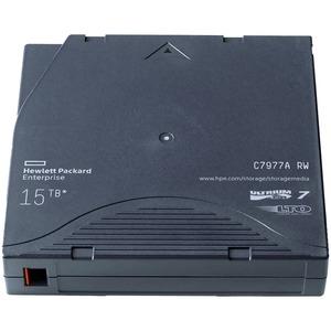 HPE LTO-7 Ultrium 15 TB No Case Pallet of 960 Tapes - LTO-7 - 6 TB (Native) / 15 TB (Compr