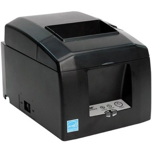 Star Micronics TSP654IIBI-24 Gry (AUTO-CONNECT) Bluetooth Thermal Receipt Printer Cutter Gray