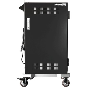 Anywhere Cart AC-SLIM Charging Cart - Metal - 22inWidth x 23.8inDepth x 43.9inHeight -