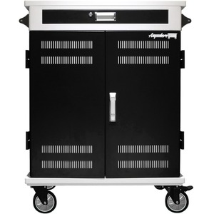 Anywhere Cart AC-PRO II Charging Cart - Metal - 36.8inWidth x 22.9inDepth x 43.5inHeigh