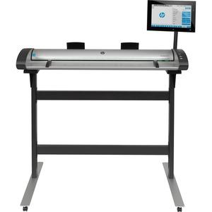 HP SD Pro Large Format Sheetfed Scanner - 1200 dpi Optical - 48-bit Color - 16-bit Graysca