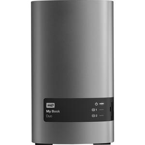 WD 16TB My Book Duo Desktop RAID External Hard Drive - USB3.0 - WDBLWE0120JCH-NESN