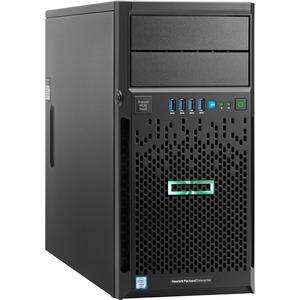 HP ProLiant ML30 G9 4U Micro Tower Server - 1 x Intel Xeon E3-1230 v5 Quad-core (4 Core) 3.40 GHz - 4 GB Installed DDR4 SDRAM - Serial ATA/600 Controller - 0, 1, 5, 10 RAID Levels - 1 x 350 W 831065-S01