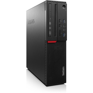 Lenovo ThinkCentre M800 10FY0013US Desktop Computer - Intel Core i5 (6th Gen) i5-6400 2.70 GHz - 4 GB DDR4 SDRAM - 500 GB HDD - Windows 7 Professional 64-bit upgradable to Windows 10 Pro - Small Form Factor - Black 10FY0013US