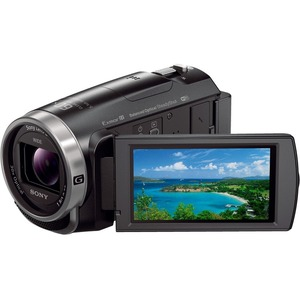 "Sony Handycam HDR-CX675 Digital Camcorder - 3"" - Touchscreen LCD - Exmor R CMOS - Full HD - Black"