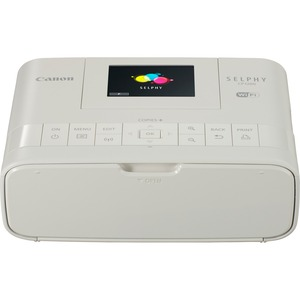 Canon SELPHY CP1200-White Wireless Compact Photo Printer - Dye Sublimation - Res