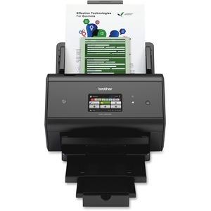 Brother ImageCenter™ ADS-3600W High-Speed Document Scanner - Wireless - Duplex - Des