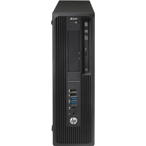 HP Z240 Small Form Factor Workstation | 1 x Processors Supported | 1 x Intel Xeon E3-1270 Quad-core (4 Core) 3.60 GHz | Black