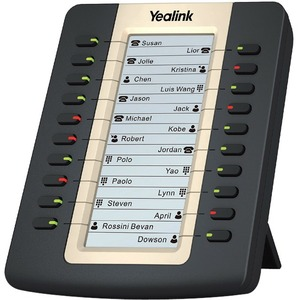 Yealink IP PHONE EXPANSION MODULE (LCD) Rich visual experience with 160x320 graphic LCD