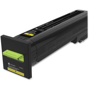 CX825, CX860 Yellow Extra High Yield Return Program Toner Cartridge