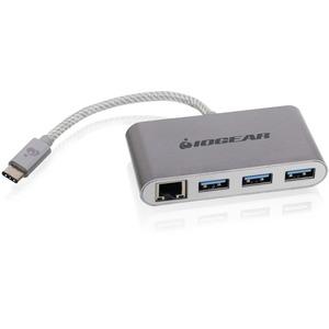 IOGEAR HUB-C Gigalinq USB-C to 4-port USB-A Hub w/ Gigabit Ethernet