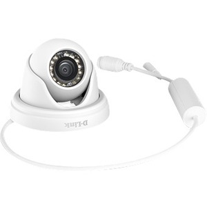 DLINK - BUSINESS SOLUTIONS DCS-4802E 1920X1080 DOME CAMERA 2.8MM 60FT IP66 POE 10X ZOOM