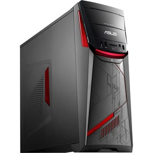 Asus G11CD-WS51 Desktop Computer - Intel Core i5 (6th Gen) i5-6400 2.70 GHz - 8 GB DDR4 SDRAM - 1 TB HDD - Windows 10 Home - Tower - Black G11CD-WS51