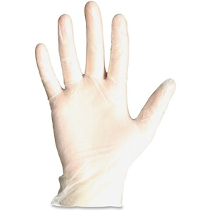 ProGuard General-purpose Disposable Vinyl Gloves - X-Large Size - Vinyl - Clear - Disposable, Powdered, Beaded Cuff, Light Duty, Ambidextrous - For General Purpose, Manufacturing, Painting, Cleaning, Food - 100 / Box