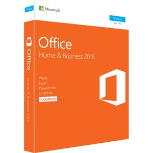 MICROSOFT - SOFTWARE OFFICE HOME & BUSINESS 2016 WIN ENGLISH NA ONLY MEDIALESS P2