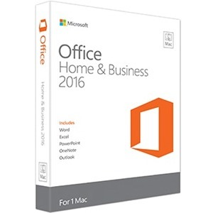 MICROSOFT - SOFTWARE OFF MAC HOME BUSINESS 1PK 2016 ENGLISH NA ONLY MEDIALESS P2