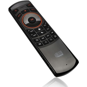 Adesso wireless 2-in-1 Air Mouse and flip over mini Keyboard Remote, for smart