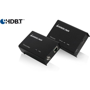 IOGEAR GVE330 Hdbaset 4K HDMI Extender Supporting CAT6S Cable Up to 228FT