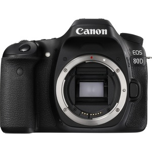 Canon EOS 80D 24.2 Megapixel Digital SLR Camera Body Only - Black