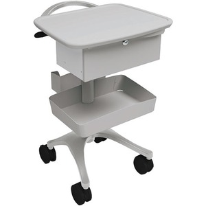 Anthro Zido Phlebotomy Cart Package - 1 Drawer - 118 lb Capacity - 4 Casters - 4inCaster