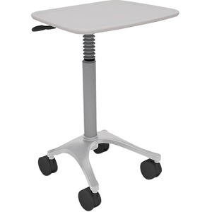 Anthro Zido 22-Adjustable-Height Cart - 150 lb Capacity - 4 Casters - 4inCaster Size - Me