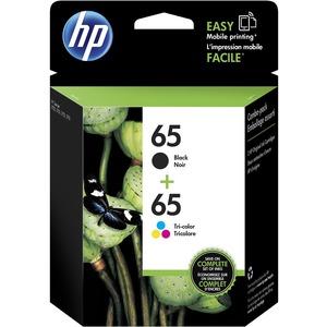 HP INC. - INK 2PK 65 TRI-COLOR/BLACK ORIGINAL INK CARTRIDGE COMBO