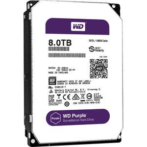 Western Digital Purple 8TB SATA 6GB/S 128MB Cache 3.5IN Surveillance Hard Drive OEM