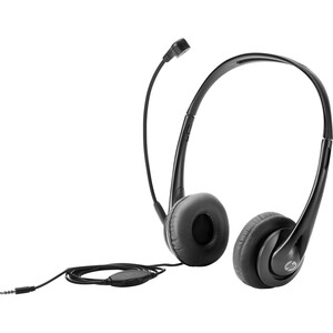 HP Headset - Stereo - Mini-phone (3.5mm) - Wired - 32 Ohm - Over-the-head - Binaural - Sup