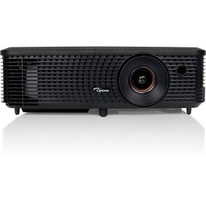 OPTOMA HD 720p 1280x720 resolution 3200 lumens 20,000 1 contrast 1.54 1.71 1 throw projector