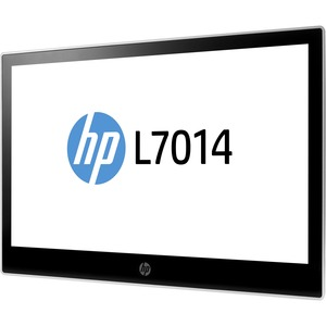 HP L7014 14inWXGA LED LCD Monitor - 16:9 - Black-Asteroid - 14inClass - 1366 x 768 - 14.