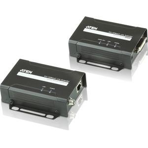 ATEN VE601T Video Extender-TAA Compliant - 1 Input Device - 229.66 ft Range - 1 x Network