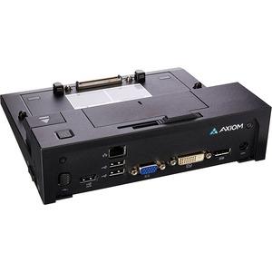 Axiom Port Replicator - Proprietary Interface - 5 x Total USB Ports - 3 x USB 2.0 Ports -