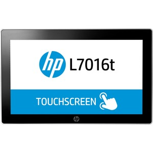 HP L7016t 15.6inLCD Touchscreen Monitor - 16:9 - 8 ms - Projected Capacitive - 1366 x 768