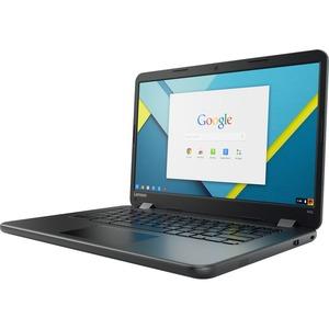 "Lenovo Chromebook N42-20 80US0002US 14"" Chromebook - Intel Celeron N3060 Dual-core (2 Core) 1.60 GHz - 4 GB - 32 GB Flash Memory - Chrome OS - 1366 x 768 - Black 80US0002US"