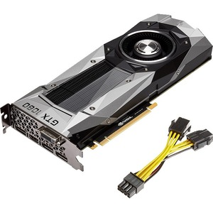 PNY GeForce GTX 1080 Graphic Card | 1.61 GHz Core | 1.73 GHz Boost Clock | 8 GB GDDR5X | PCI Express 3.0 x16 | Dual Slot Space Required