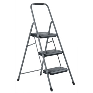Fabulous Louisville Ladder Inc Louisville 3 Steel Domestic Step File File File File Stool 3 Step File File File File 200 Lb Load Capacity47 1 Gray Pabps2019 Chair Design Images Pabps2019Com