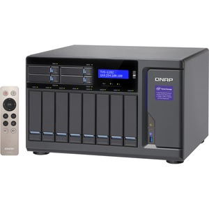 Qnap 12-Bay (8+4) Intel Core i7 32GB RAM High Performance NAS 450W PSU