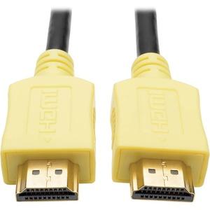 Tripp Lite 3ft Hi-Speed HDMI Cable Digital A/V UHD HDMI 4Kx2K M/M Yellow 3'