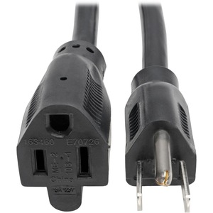 Tripp Lite Power Cord Extension Cable Heavy Duty 14AWG 5-15P 5-15R 15A 25'
