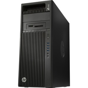 HP Z440 Mini-tower Workstation | 1 x Processors Supported | 1 x Intel Xeon E5-1620 v4 Quad-core (4 Core) 3.50 GHz | Jack Black