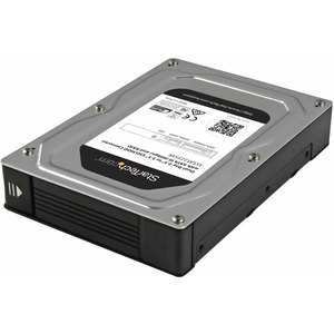 "StarTech Dual-Bay 2.5"" to 3.5"" SATA Hard Drive Adapter Enclosure with RAID"