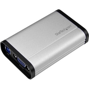StarTech USB 3.0 Capture Device for High-Performance VGA Video - 1080p 60fps - Aluminum