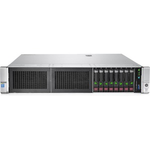HPE ProLiant DL380 G9 2U Rack Server - 1 x Intel Xeon E5-2620 v4 Octa-core (8 Core) 2.10 GHz - 16 GB Installed DDR4 SDRAM - 12Gb/s SAS Controller - 0, 1, 5, 6, 10, 50, 60 RAID Levels - 1 x 500 W 867448-S01
