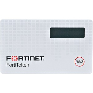 Fortinet FortiToken 220 Security Card - OATH-TOTP-SHA-1 Encryption